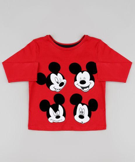 Camiseta-Infantil-Mickey-Manga-Longa-Vermelha-9426306-Vermelho_1