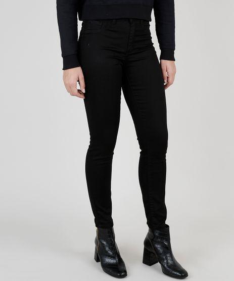 Calca-de-Sarja-Feminina-Super-Skinny-Energy-Jeans-Cintura-Alta-Preta-8878611-Preto_1