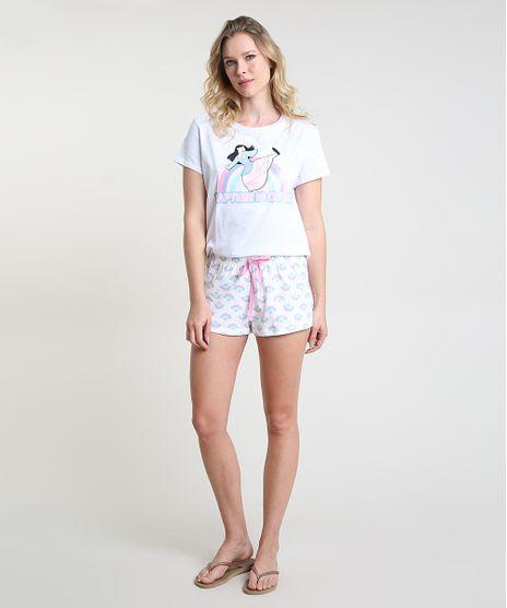 Pijama-Feminino-Mulan-Manga-Curta-Off-White-9876302-Off_White_1