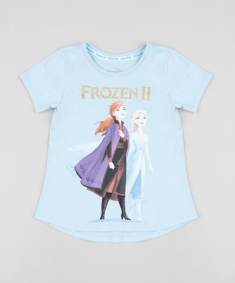 Blusa-Infantil-Elsa-e-Anna-Frozen-Manga-Curta-Azul-Claro-9913226-Azul_Claro_1