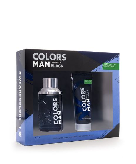Kit-Benetton-Colors-Black-Masculino-EDT-100ml---Gel-75ml-unico-9836096-Unico_1