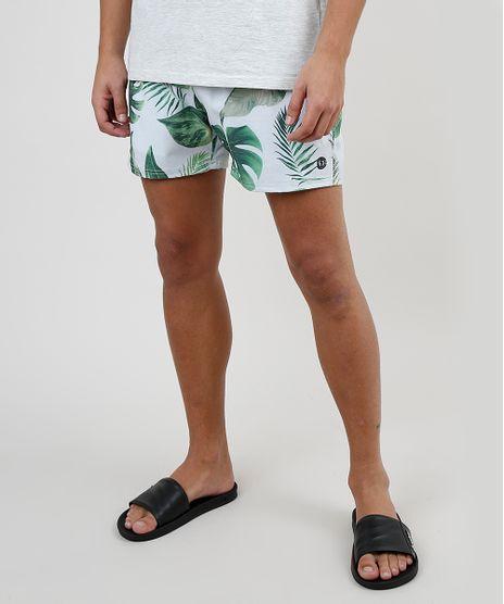 Short-Masculino-Estampado-de-Folhagem-com-Cordao-e-Bolsos-Off-White-9867072-Off_White_1