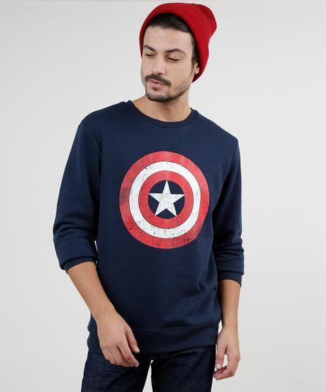 Blusao-Masculino-Capitao-America-em-Moletom-Felpado-Azul-Marinho-9800215-Azul_Marinho_1