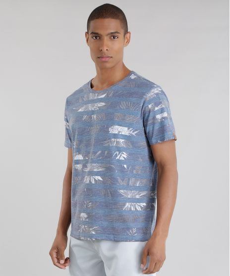 71a9a2d1e4db8 Camiseta-Estampada-Floral-Azul-8581679-Azul 1