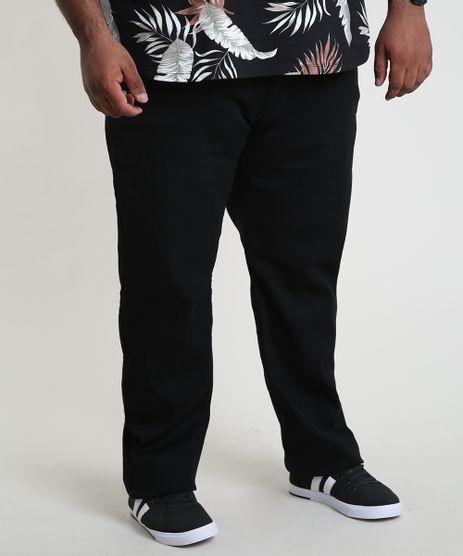 Calca-Jeans-Masculina-Reta-com-Bolsos-Preta-9913667-Preto_1_1