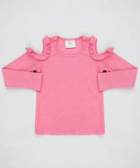 Blusa-Infantil-Open-Shoulder-com-Babado-Manga-Longa-Rosa-Escuro-9911933-Rosa_Escuro_1