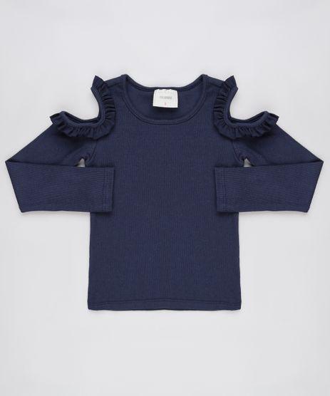 Blusa-Infantil-Open-Shoulder-com-Babado-Manga-Longa-Azul-Marinho-9911933-Azul_Marinho_1