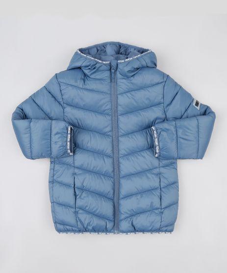 Jaqueta-Puffer-Infantil-com-Capuz-e-Bolsos-Azul-9807563-Azul_1