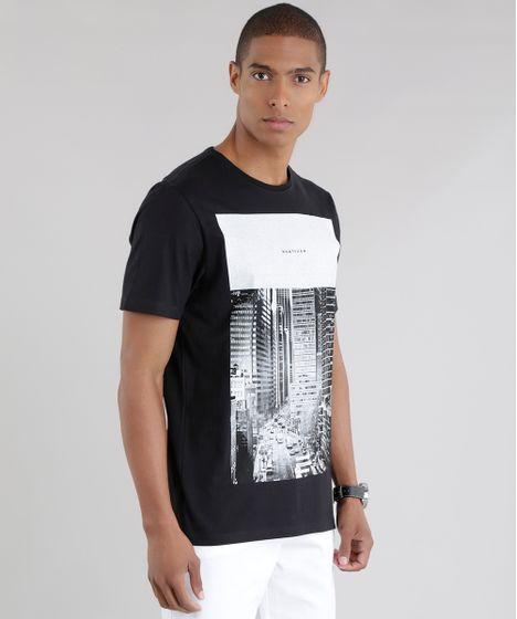 Camiseta--Whatever--Preta-8577595-Preto 1 ... 2921429bd8bff
