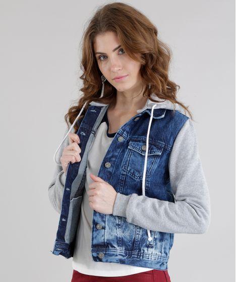 161dac05fd Jaqueta-Jeans-com-Moletom-Azul-Medio-8611364-Azul Medio 1 ...