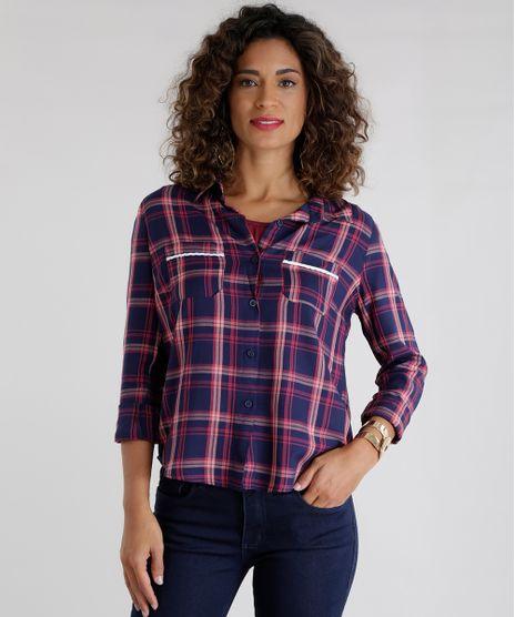 Camisa-Xadrez-Azul-Marinho-8623512-Azul_Marinho_1