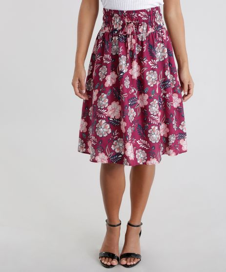 Saia-Estampada-Floral-Vinho-8676219-Vinho_1