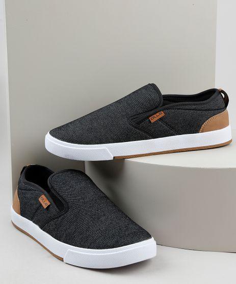 Tenis-Jeans-Slip-On-Masculino-Ollie-Preto-9924409-Preto_1