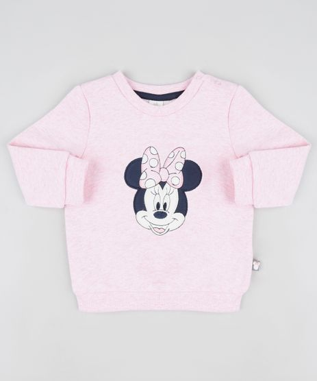 Blusao-Infantil-Minnie-em-Moletom-Felpado-Rosa-9842859-Rosa_1