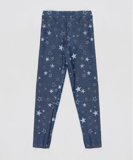 Calca-Jegging-Infantil-Estampada-de-Estrelas-Azul-Escuro-9915194-Azul_Escuro_1