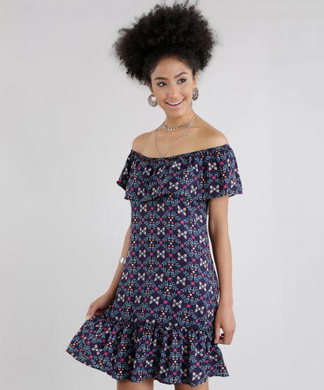 Vestido-Ombro-a-Ombro-Estampado-Floral-Azul-Marinho-8636332-Azul_Marinho_1