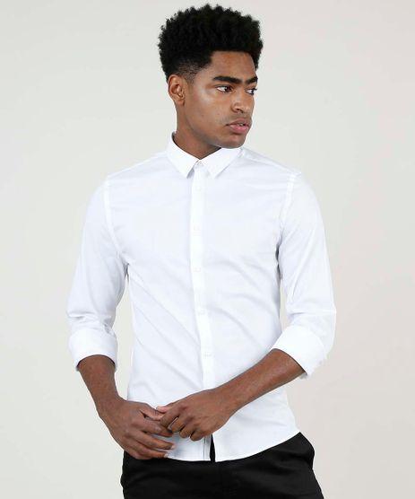 Camisa-Masculina-Super-Slim-Manga-Longa--Branca-9663547-Branco_1