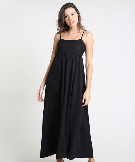 Vestido-Feminino-Mindset-Longo-com-Recorte-Alca-Fina-Preto-9947937-Preto_1