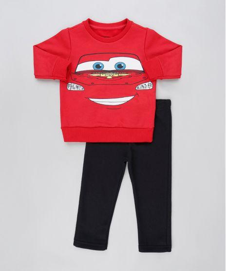 Conjunto-Infantil-Carros-de-Blusao-Vermelho---Calca-em-Moletom-Felpado-Preta-9876603-Preto_1