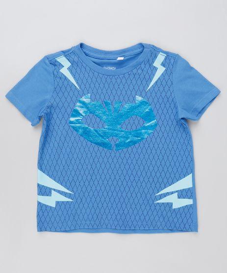 Camiseta-Infantil-Menino-Gato-PJ-Masks-Manga-Curta-Azul-9927792-Azul_1