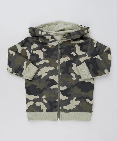 Blusao-Infantil-Estampado-Camuflado-em-Moletom-com-Capuz-Verde-Militar-9871518-Verde_Militar_1