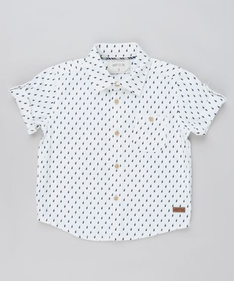 Camisa-Infantil-Estampada-de-Raios-Manga-Curta-Branca-9810816-Branco_1