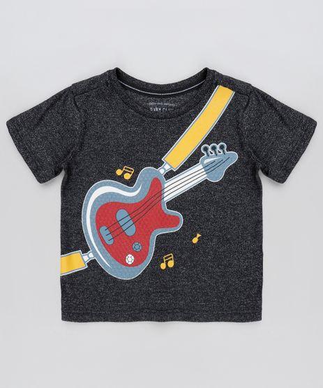 Camiseta-Infantil-Guitarra-Manga-Curta-Preta-9872560-Preto_1