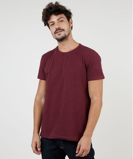 Camiseta-Masculina-BBB-Basica-com-Elastano-Manga-Curta-Gola-Careca-Vinho-1-9209153-Vinho_1_1