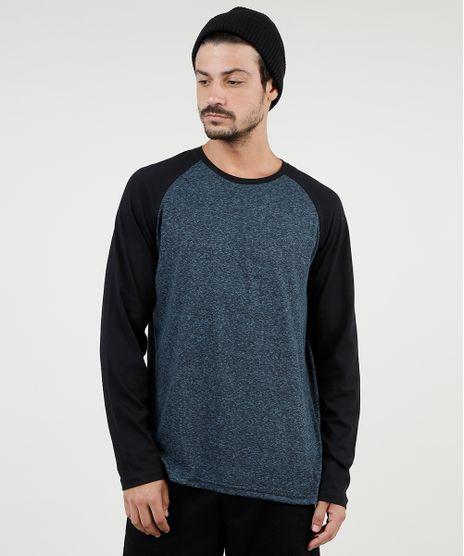 Camiseta-Masculina-Raglan-Manga-Longa-Gola-Careca-Azul-Escuro-9902185-Azul_Escuro_1