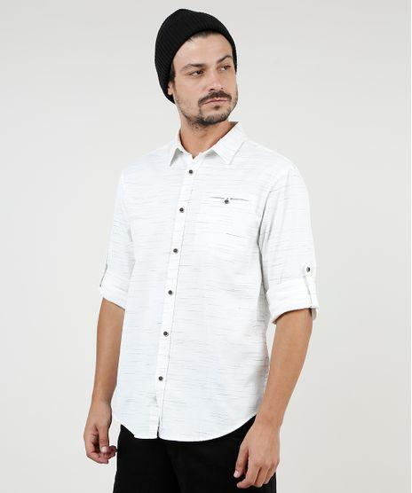 Camisa-Masculina-Tradicional-Mescla-com-Bolsos-Manga-Longa-Off-White-9813192-Off_White_1