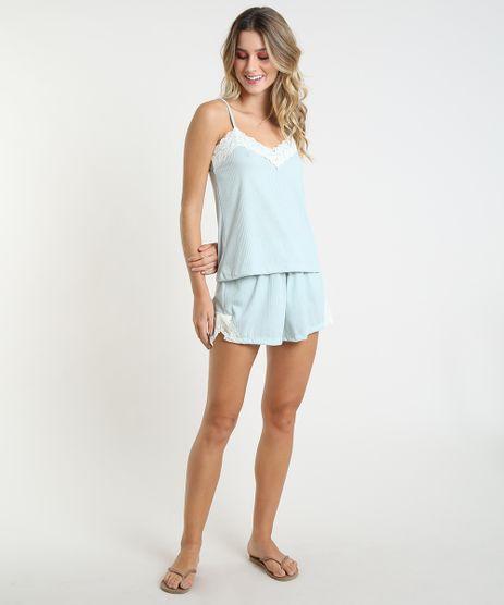 Short-Doll-Canelado-com-Renda-Alca-Fina-Verde-Claro-9867316-Verde_Claro_1