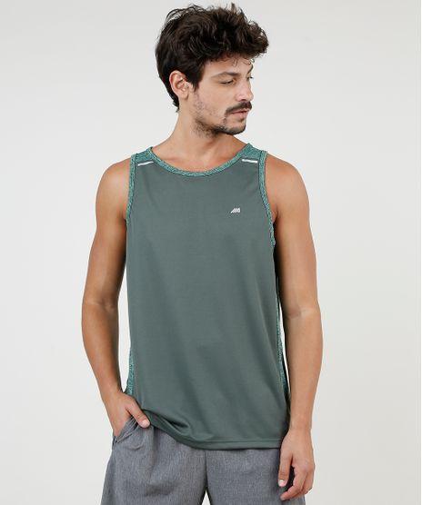 Regata-Masculina-Esportiva-Ace-com-Recorte-Gola-Careca-Verde-Militar-9721915-Verde_Militar_1