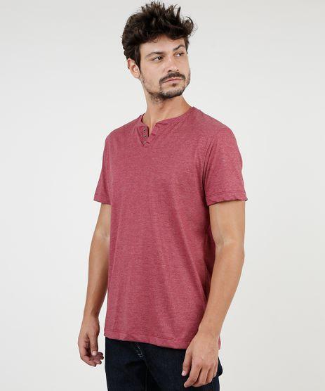 Camiseta-Masculina-BBB-Basica-Manga-Curta-Gola-Portuguesa--Vinho-9555552-Vinho_1