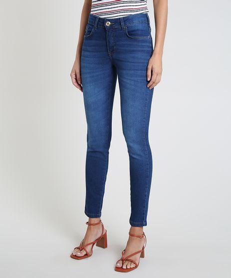 Calca-Jeans-Feminina-Super-Skinny-Cintura-Media-Azul-Medio-9936080-Azul_Medio_1