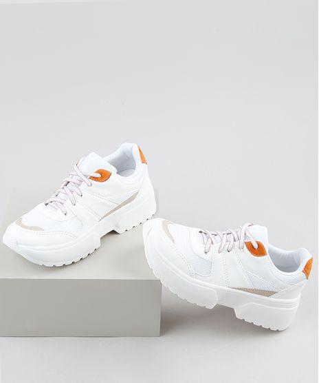 Tenis-Feminino-Oneself-Sneaker-Chunky-com-Recortes-Branco-9907809-Branco_1