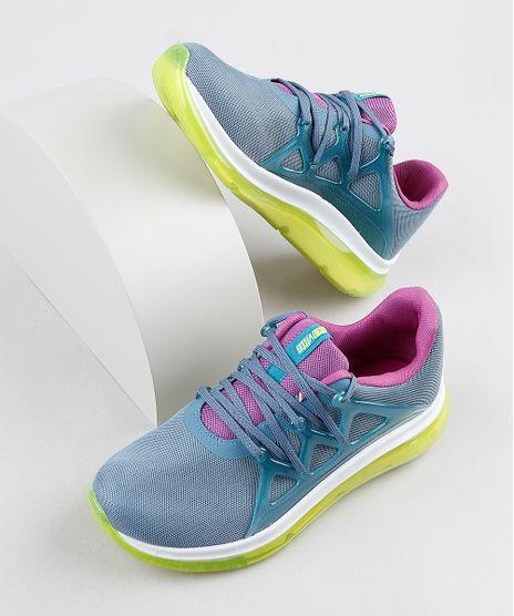 Tenis-Feminino-Actvitta-Knit-Running-com-Solado-Translucido-Azul-9941817-Azul_1