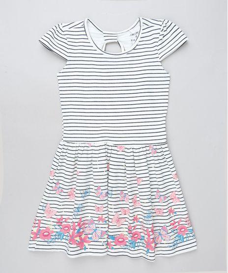 Vestido-Infantil-Listrado-com-Borboletas-Manga-Curta-Off-White-9915650-Off_White_1
