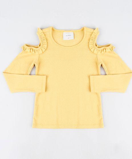 Blusa-Infantil-Open-Shoulder-Canelada-com-Babado-Manga-Longa--Mostarda-9911933-Mostarda_1