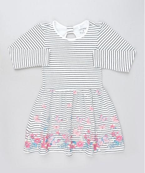 Vestido-Infantil-Listrado-com-Borboletas-Manga-Longa-Off-White-9915649-Off_White_1