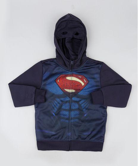 Blusao-Infantil-Super-Homem-em-Moletom-com-Capuz-Azul-Marinho-9794090-Azul_Marinho_1