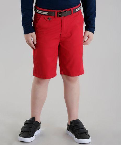 Bermuda-Slim-com-Cinto-Vermelha-8563234-Vermelho_1