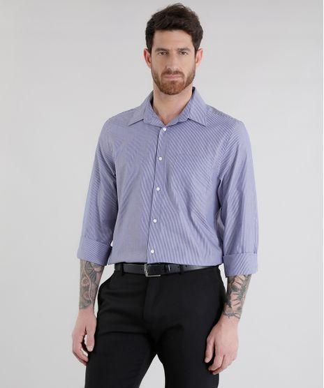 Camisa-Comfort-Listrada-Azul-Marinho-8456524-Azul_Marinho_1