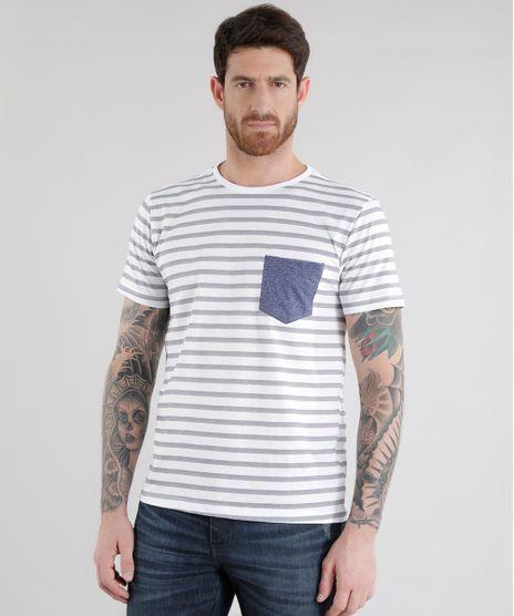 292963bae0 Camiseta Masculina Estampada, Listrada, e Mais - C&A