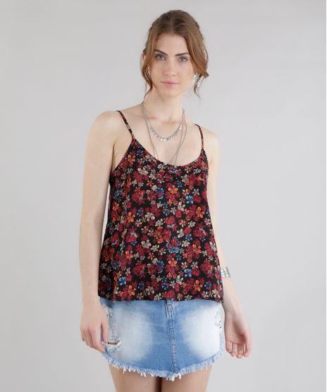 be3a3e6f9 Regata-Estampada-Floral-Preta-8549275-Preto 1