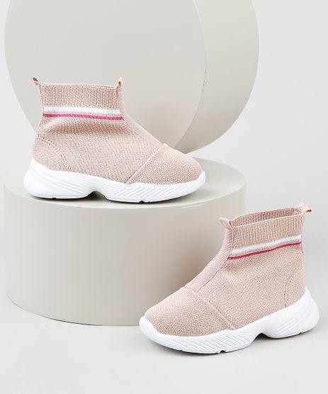 Tenis-Meia-Infantil-Molekinha-Knit-Running-Rosa-Claro-9941860-Rosa_Claro_1