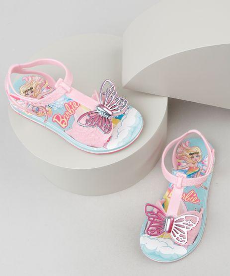 Sandalia-Infantil-Grendene-Barbie-com-Borboleta-Rosa-Claro-9938911-Rosa_Claro_1