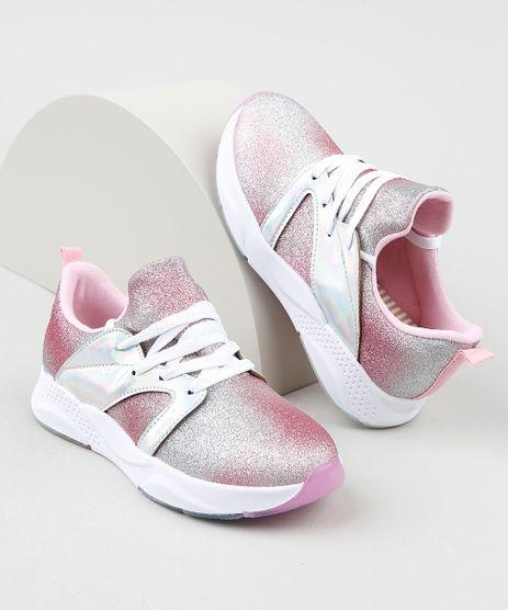 Tenis-Infantil-Molekinha-Running-com-Glitter-e-Recorte-Holografico-Rosa-9941855-Rosa_1