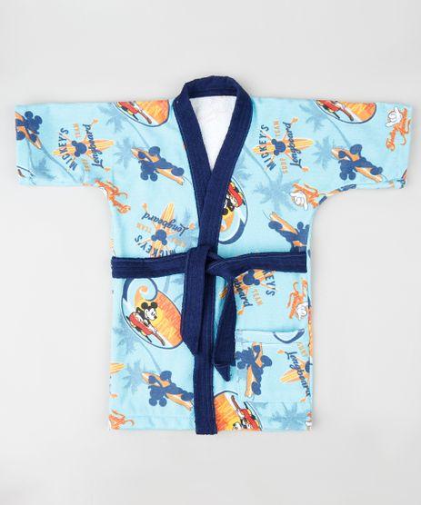 Roupao-Infantil-Mickey-Estampado-Atoalhado-Manga-Curta-Azul-Claro-9888541-Azul_Claro_1
