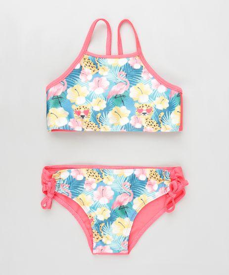 Biquini-Infantil-Floral-Halter-Neck-com-Protecao-UV50--Pink-9889852-Pink_1