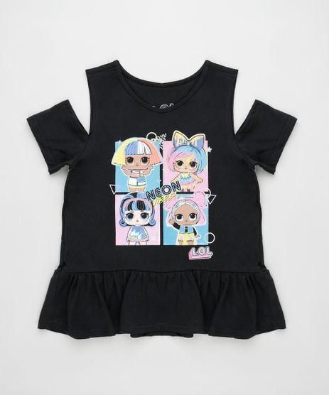 Blusa-Infantil-LOL-Surprise-Manga-Curta-Preta-9892341-Preto_1